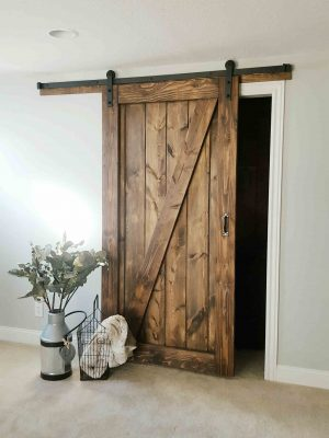 Sliding Barn Door - 1 Panel Z Style